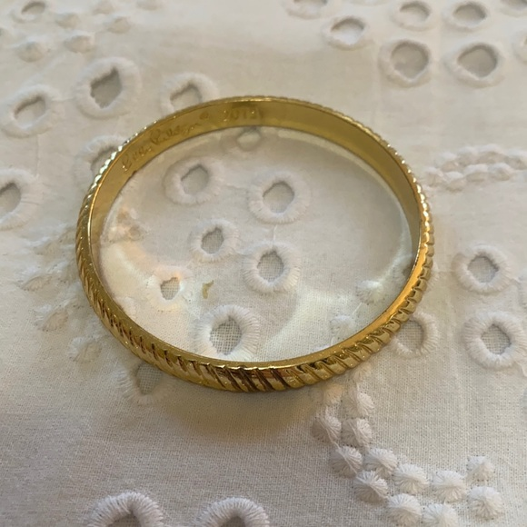 Lilly Pulitzer gold bangle